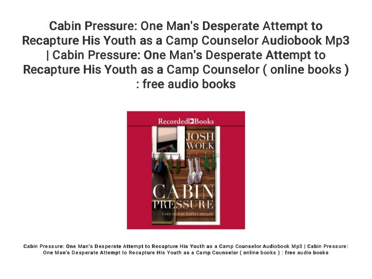 Cabin Pressure One Man S Desperate Attempt To Recapture His Youth As Please find below many ways to say desperate attempt in different languages. slideshare