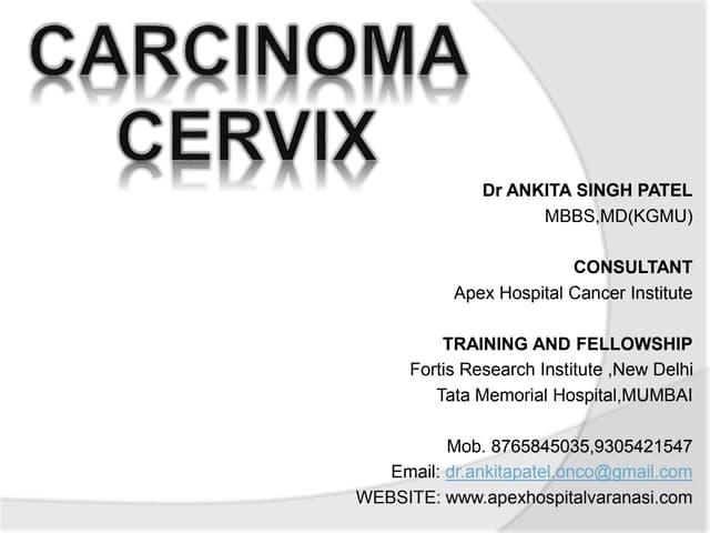 Ca cervix—standards of care