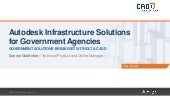 Autodesk Infrastructure Solutions for Government Agencies
