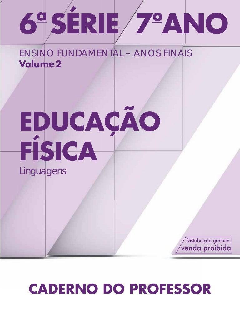 18d42c929 Educação Física 6ª Série (7º ano) - Ensino Fundamental II