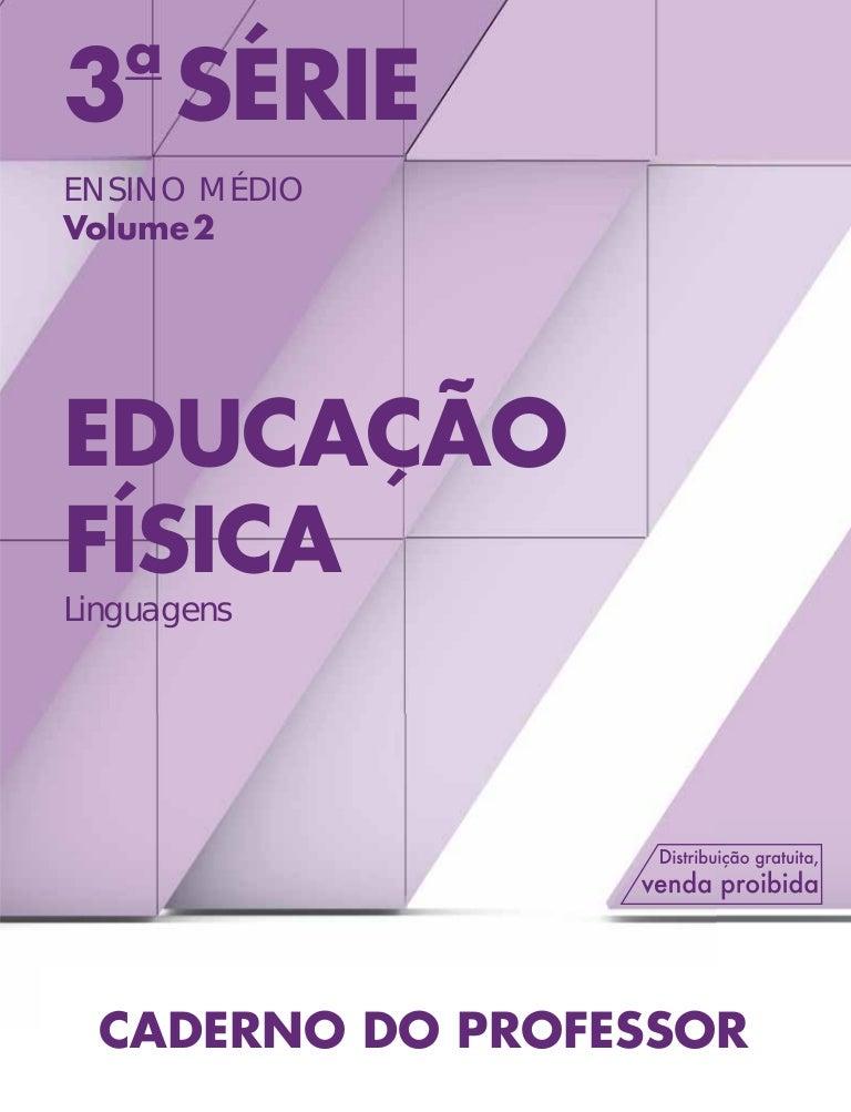 c0b75252c Educação Física 3ª Série - Ensino Médio