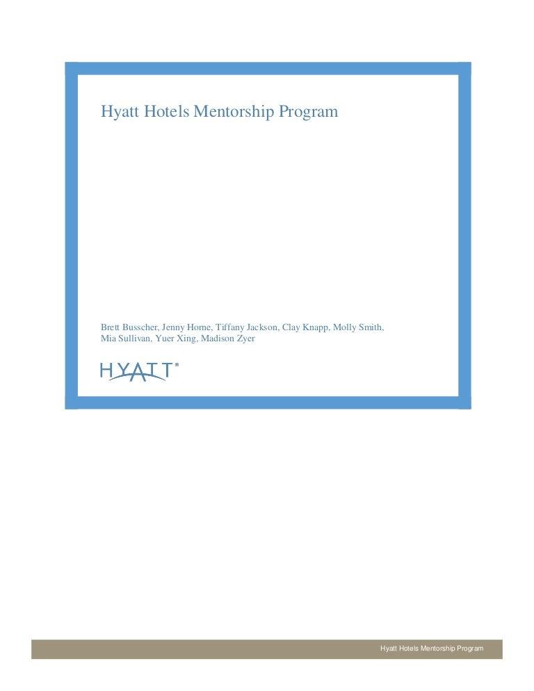 Mentorship Program Outline