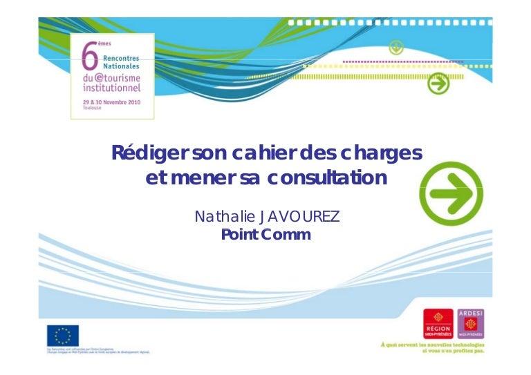 Rédiger son cahier des charges et mener sa consultation (2010)