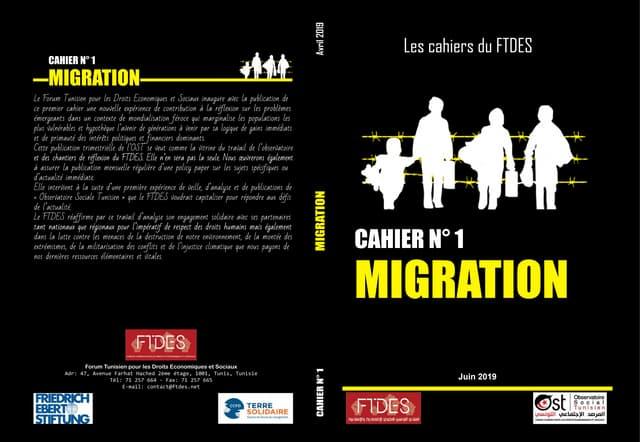 Les Cahiers du FTDES - Migration
