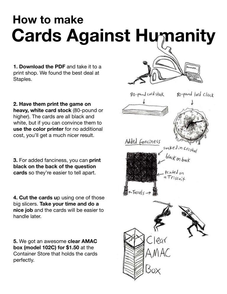 graphic regarding Printable Cards Against Humanity referred to as Cah primary match