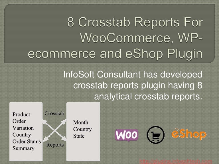 8 crosstab reports plugin for woocommerce, wp ecommerce and eshop892 Poli Monografias #18