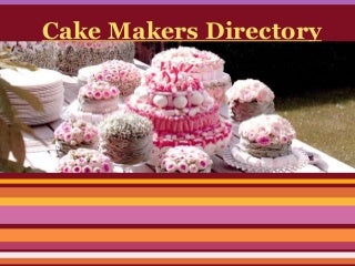 Cake makers directory usa