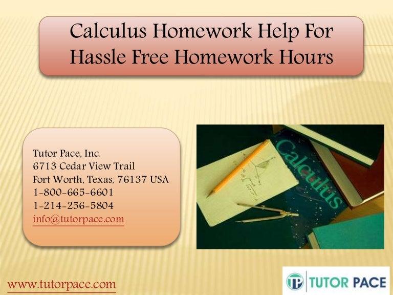 Homework help hours