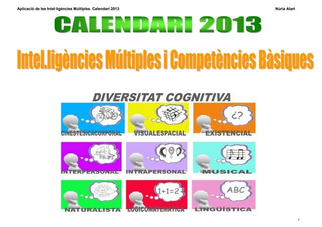 Calendari im  ccbb 2013