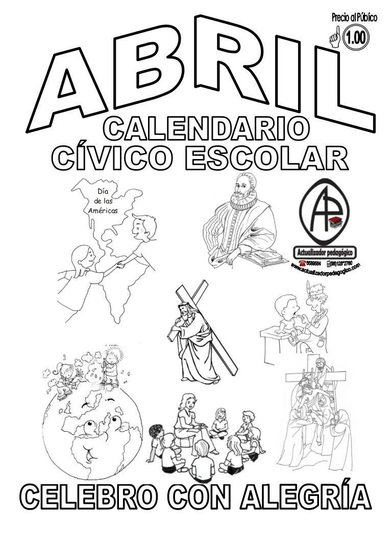 Calendario Civico Escolar Junio Y Julio 4