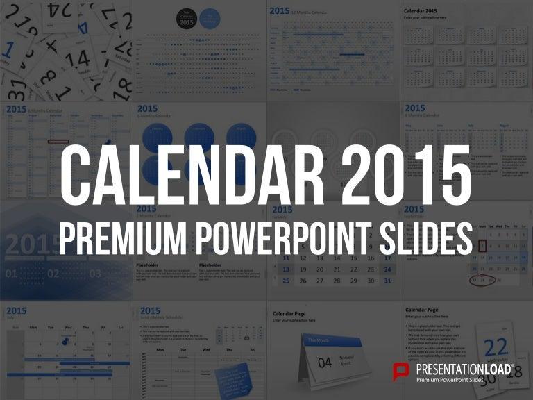 Powerpoint calendars 2015 template friedricerecipe Images