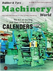 The Art of Owning & Operating Rubber Calenders