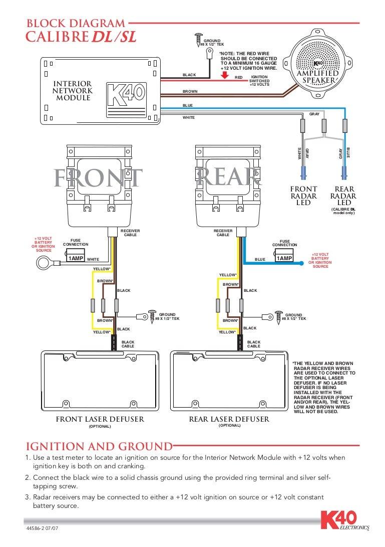 Laser Wire Diagram