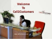 Call2customers  customer care support