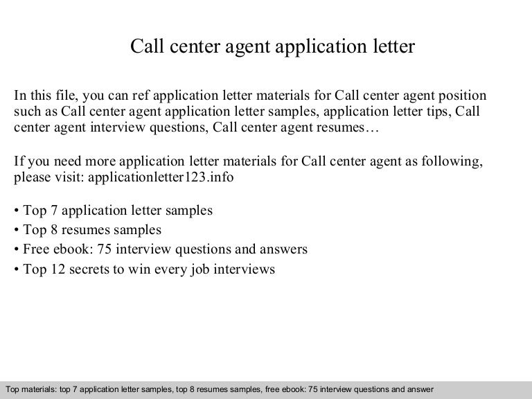 letter of application examples