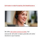 Call center in india trusted by 50