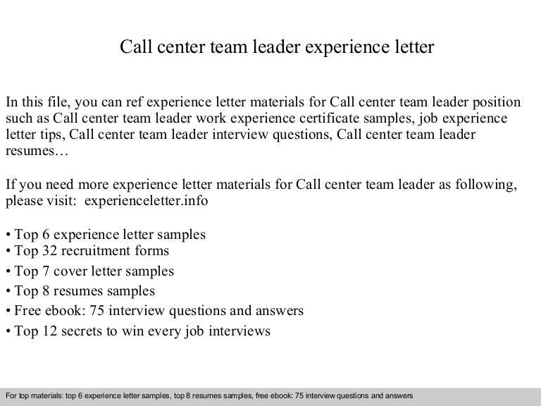 callcenterteamleaderexperienceletter-140903141015-phpapp02-thumbnail-4.jpg?cb=1409753440