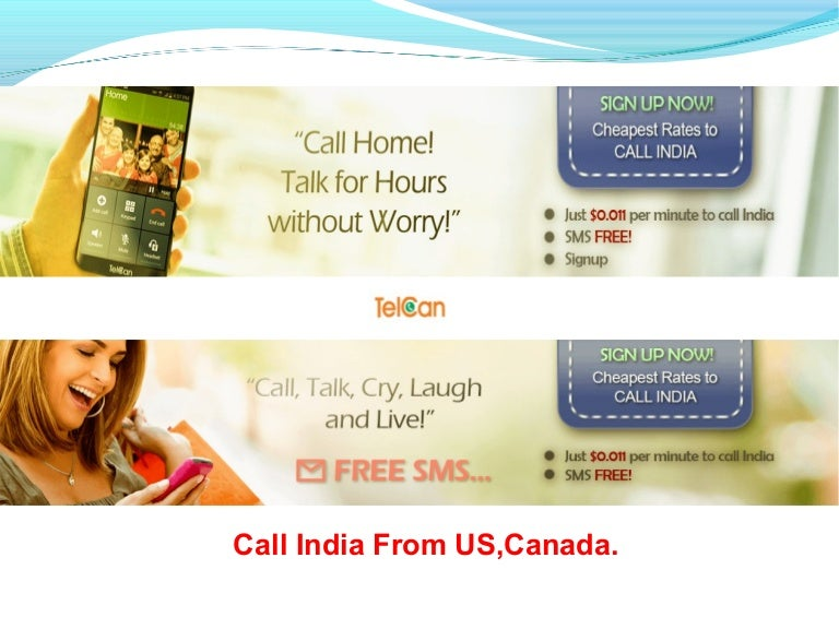 Telcan Best Calling Card to Call India From USA and Canada