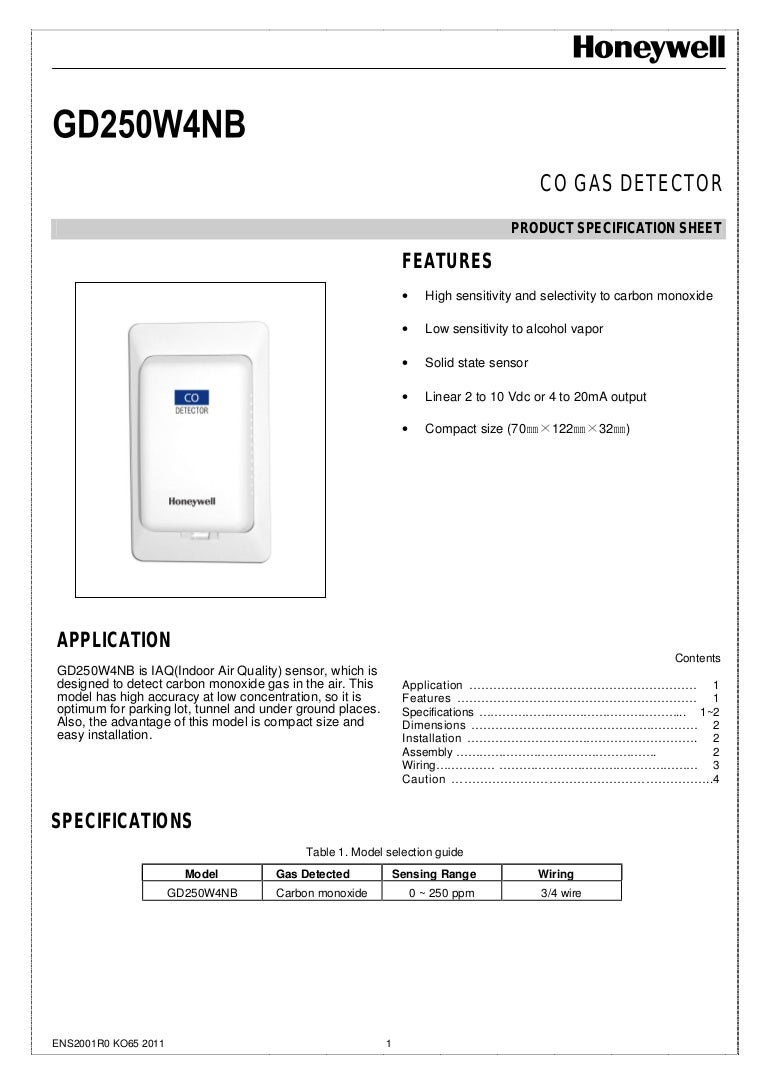 cam bien gd250 co gas detector honeywell 160919043500 thumbnail 4?cb\\\\\\=1474260059 16 [ weatherking acclaim furnace manual ] msd tach adapter  at gsmx.co