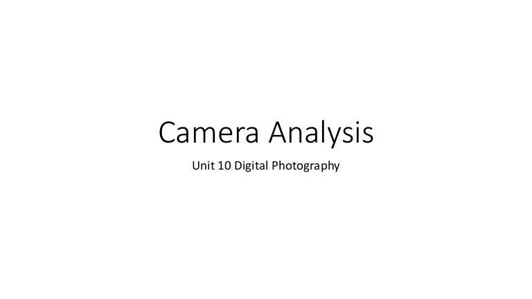 Camera Analysis 3