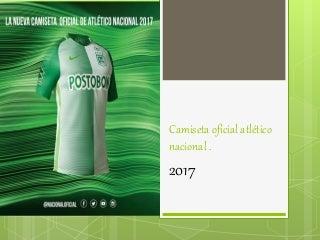 camiseta de mexico 2017