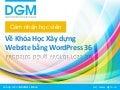 Cảm nhận của học viên về khóa học Xây Dựng Website bằng Wordpress 36