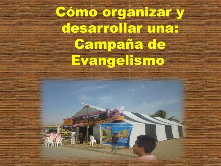 Cómo Realizar Una Campaña De Evangelismo Público
