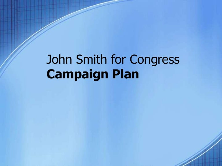 Campaign plan template 7.13.10