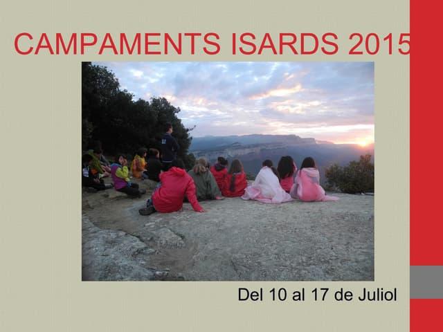 CampamentsIsards 2015