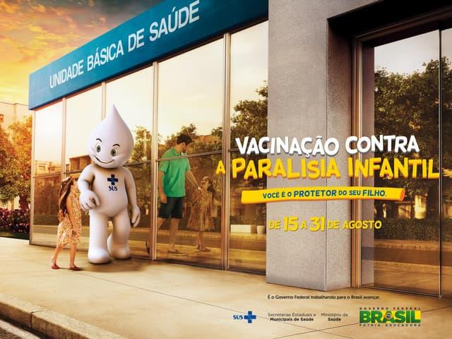 Campanha de Vacinação contra Paralisia Infantil 2015