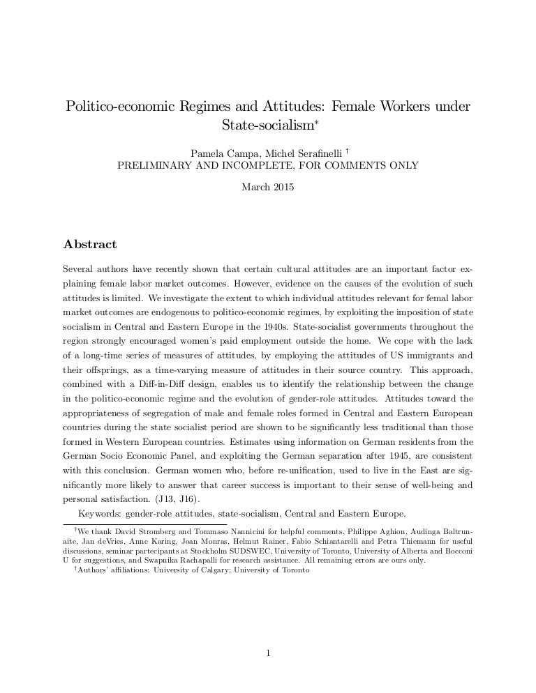 Rainer Thiemann politico economic regimes and attitudes workers state s