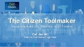 The Citizen Toolmaker