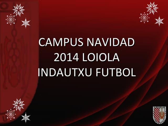Campus navidad2014