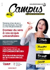 Campus mag etudiant avril 2015