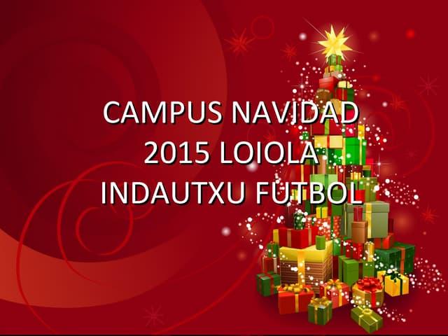 Campus navidad 2015