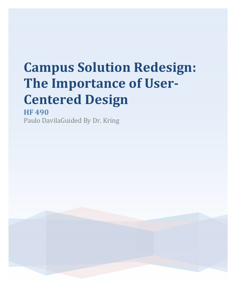 Embry-Riddle Campus Solutions UX Design on