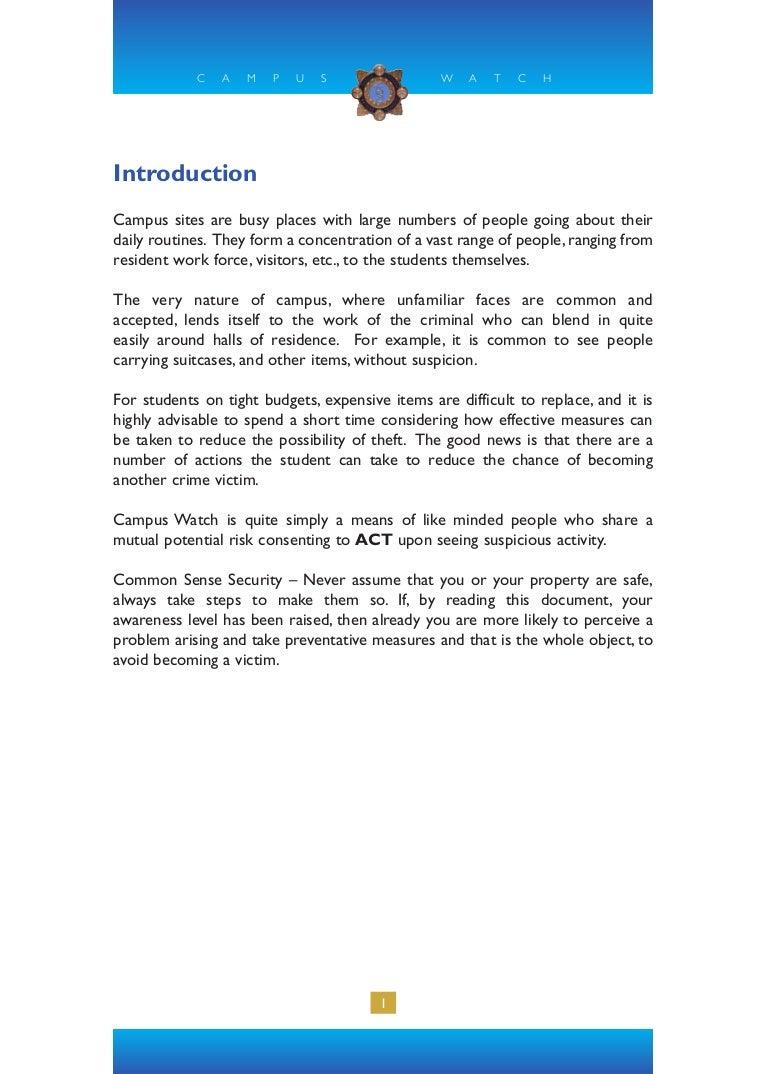 Garda campus watch solutioingenieria Choice Image