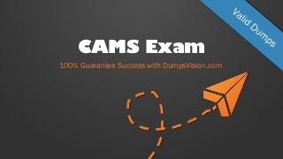 REAL Acams CAMS PDF exam questions - Valid CAMS Dumps