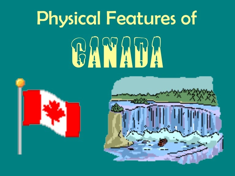 Canada physical features