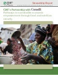 CIAT's Partnership with Canada: Pathways to sustainable economic empowerment through food and nutrition security