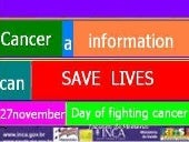 Cancer   a information can save lives