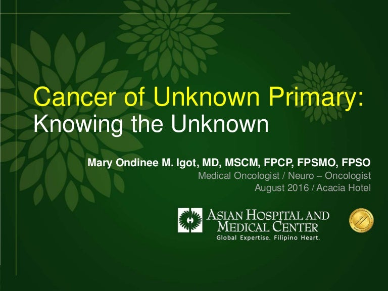 peritoneal cancer of unknown origin condilom comun