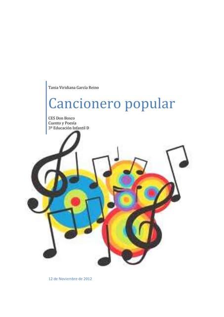 Cancionero popular
