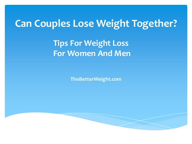 can couples lose weight together