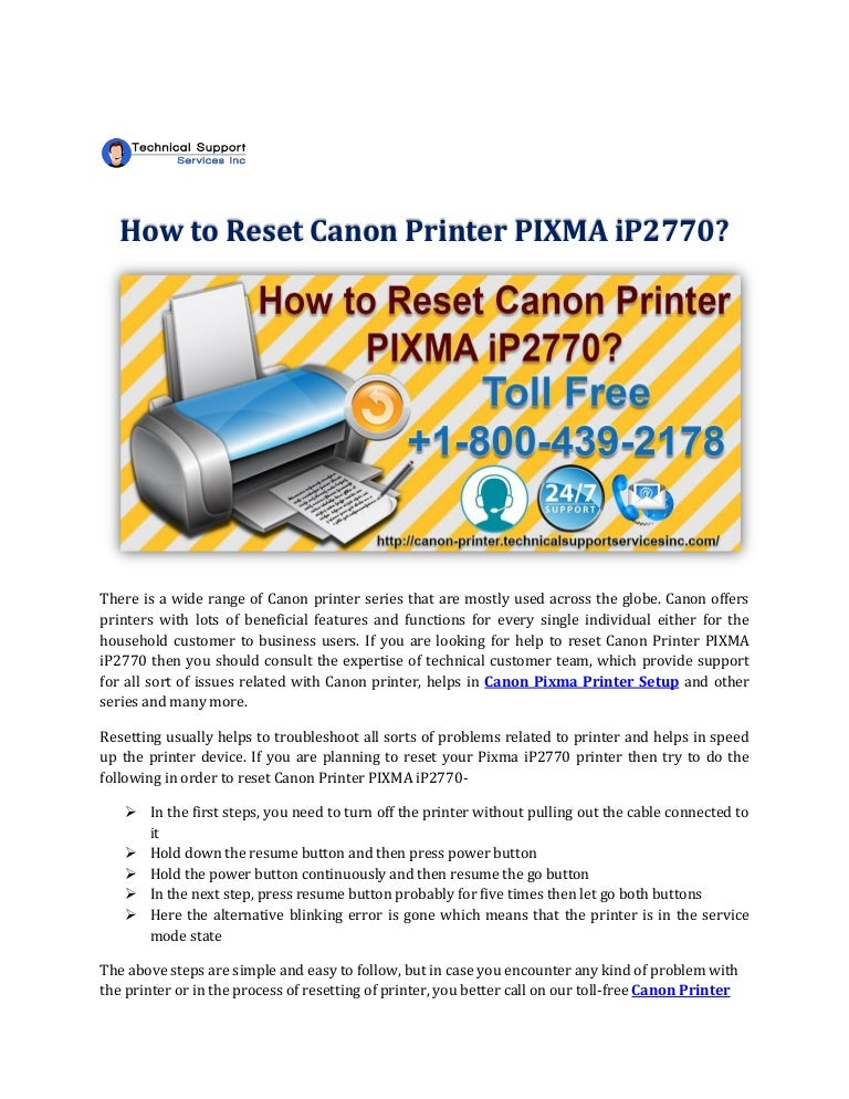 Canon Printer Technical Support Toll Free Number 1 800 439 2178
