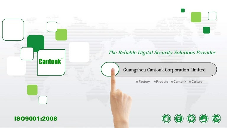 Cantonk -- Reliable Digital Security Solution Provider