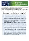 Can we put an end to human smuggling? OECD Policy Brief