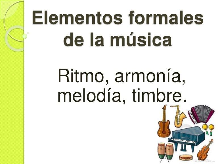 Elementos De La Musica