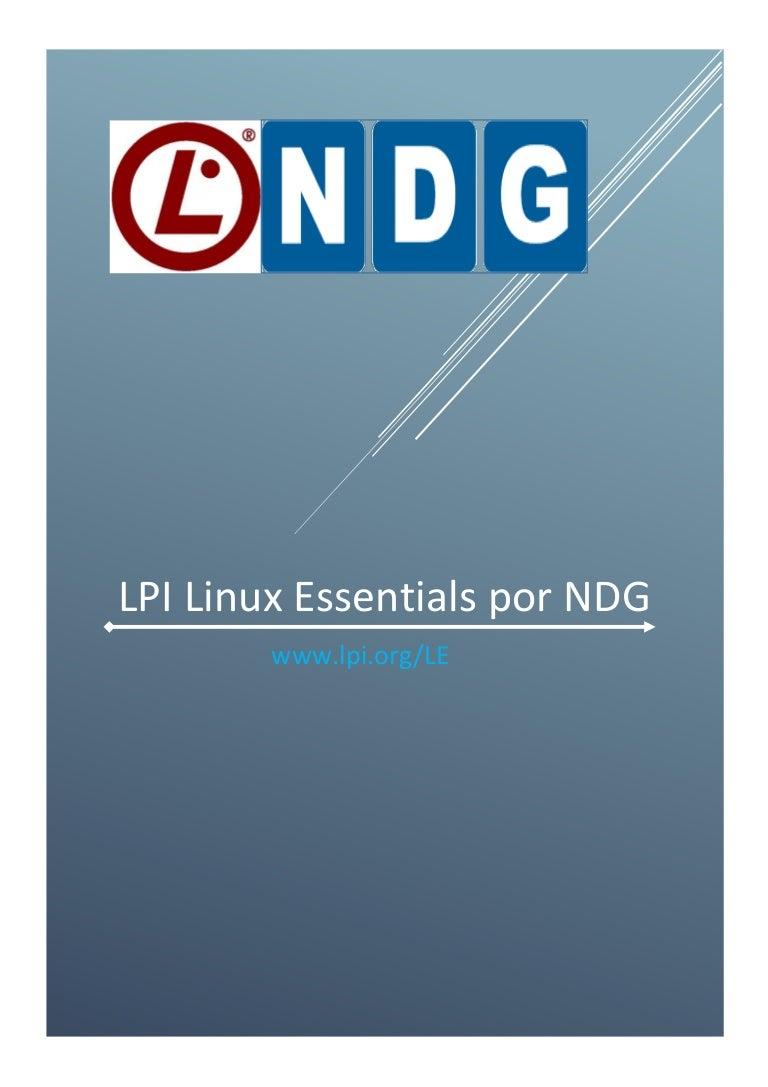 Cap  5 lpi linux essentials traducido a español