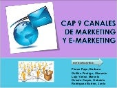 Capitulo 9 Marketing Estrategico - Roger J. Best Canales de Marketing y el e-marketing